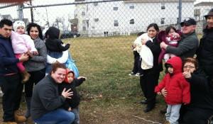Community Garden with ELR Participants