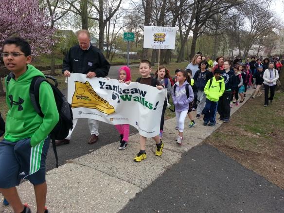 Yantacaw Walks Kickoff Parade 042314