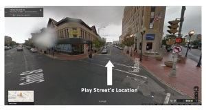 Play Street's Location 2014