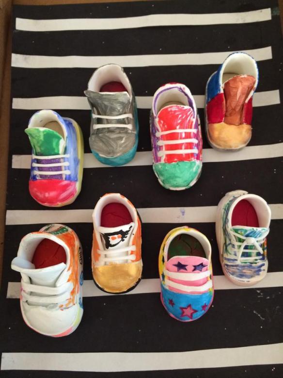 Sneaker Sculptures