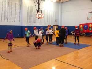 Asbury Park 4th graders learn to skate
