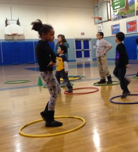 Franklin Borough Elementary School enjoying afterschool activities.