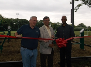 Fitness Equipment Ribbon Cutting