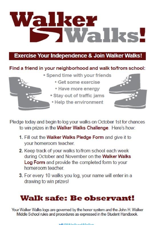 Walker Walks Poster 2014