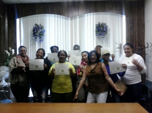 Nutrition Class Certificates