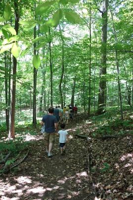 On the trail on Sunday, June 14th