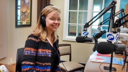 Sarah Shoemaker talking about Choose Healthy Warren County @ WNTI
