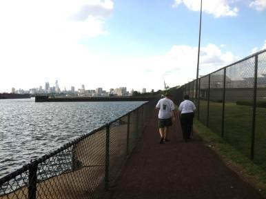The toolkit created through the ShapingNJ grant work focuses on making connections to new and existing community amenities, like the brand new walkway between Phoenix Park and the Father Michael Doyle Fishing Pier, created by the Camden County Municipal Utilities Authority.