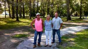 Tom, Kathy and Rick