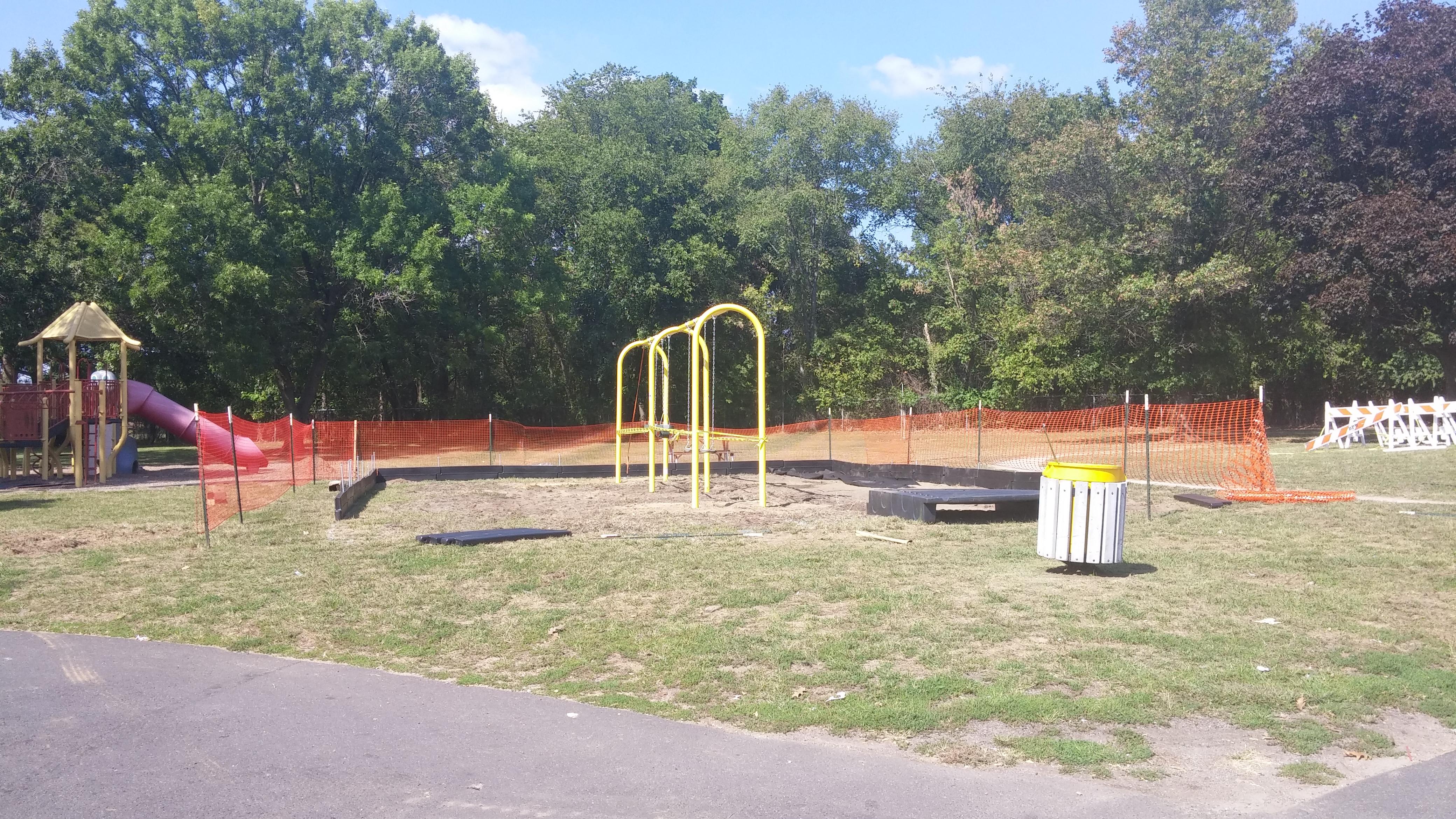 New Swing Set Installation Starts Today Hurray Shapingnj